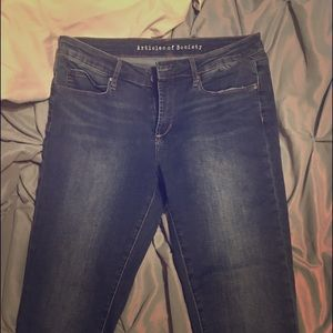 Articles of Society Sarah Skinny Jeans 31 NWOT